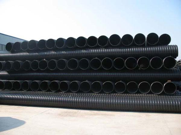 HDPE钢带增强螺旋波纹管)